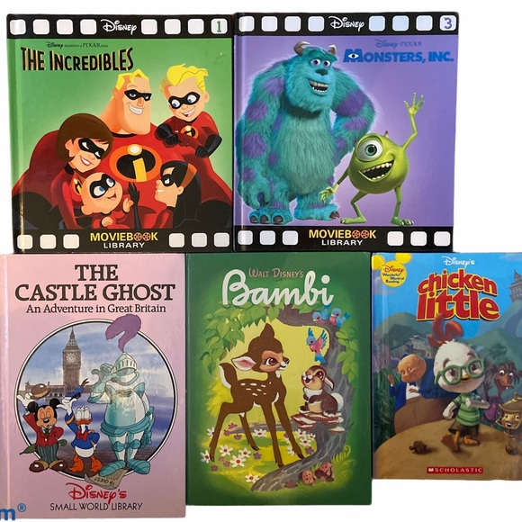 Disney Collectables Hardcover Story Books